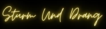 Sturm und drang logo